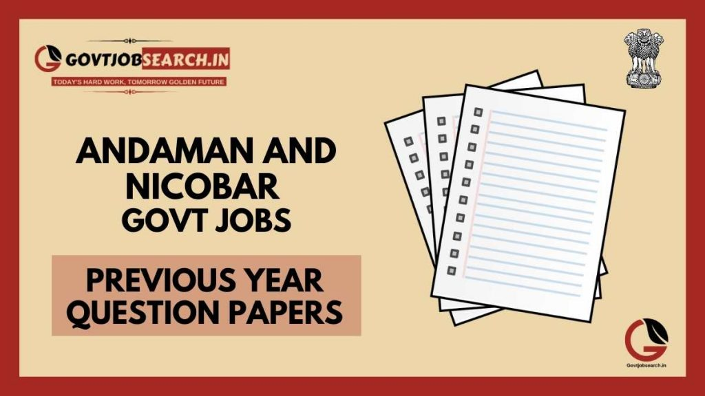 andaman-and-nicobar-govt-jobs-previous-years-papers