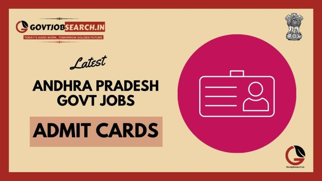 andhra-pradesh-government-jobs-admit-cards