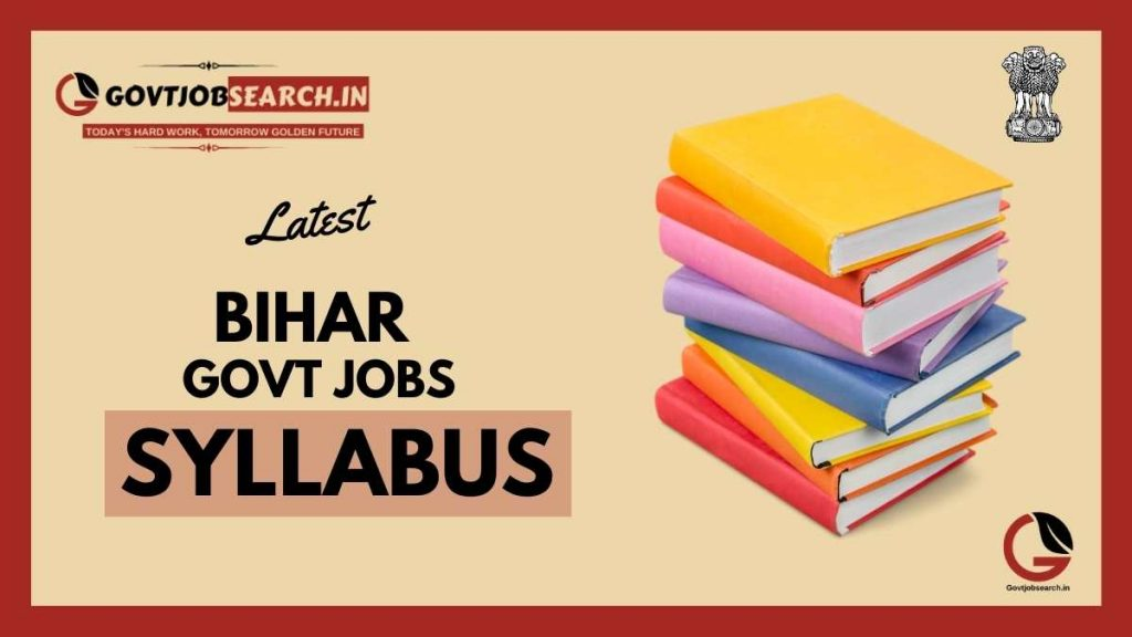 bihar-government-jobs-syllabus