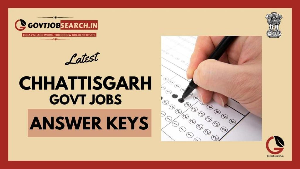 chhattisgarh-government-jobs-answer-keys