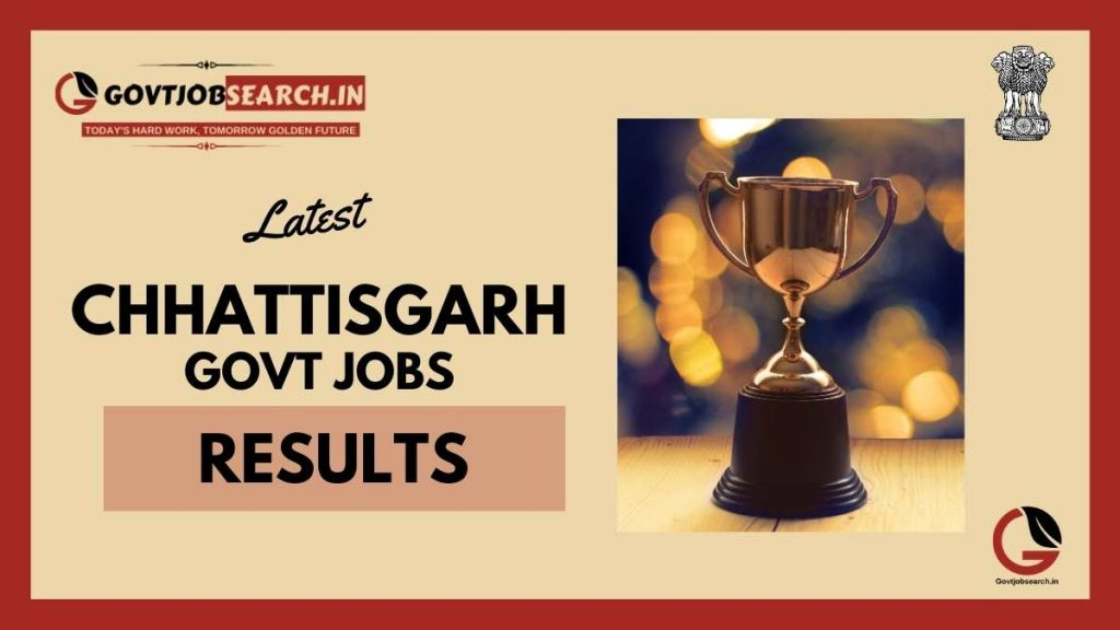 chhattisgarh-government-jobs-results
