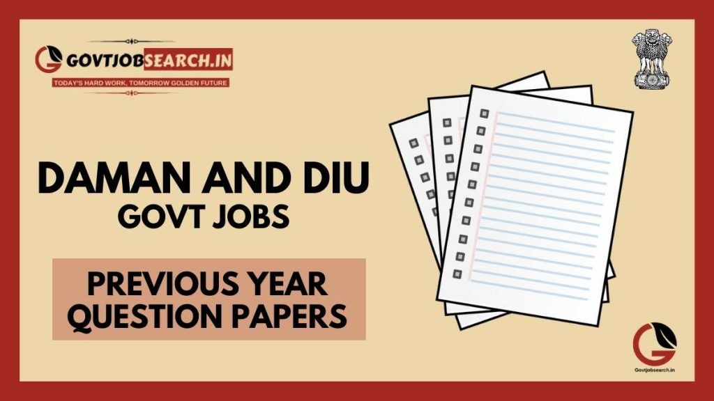 daman-and-diu-government-jobs-previous-years-papers