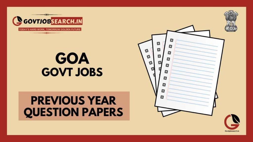 goa-government-jobs-previous-years-papers