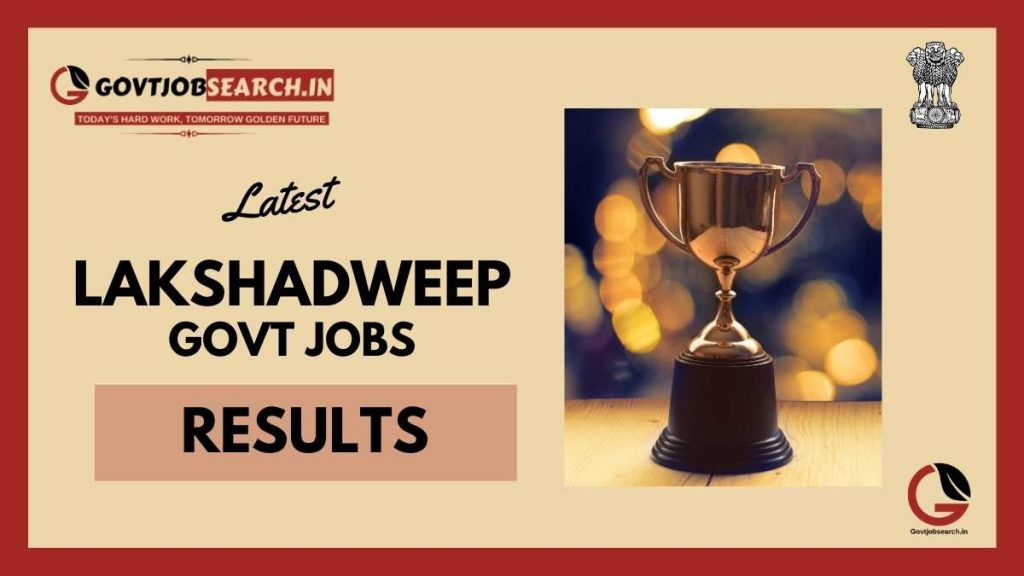 lakshadweep-government-jobs-results