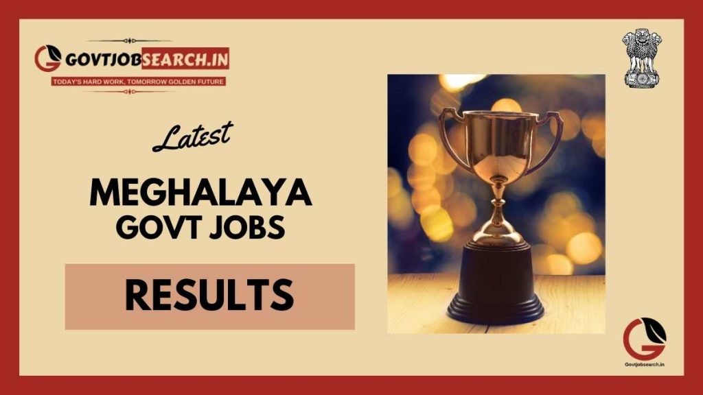 meghalaya-government-jobs-results