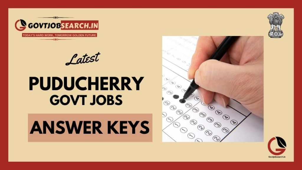 puducherry-government-jobs-answer-keys