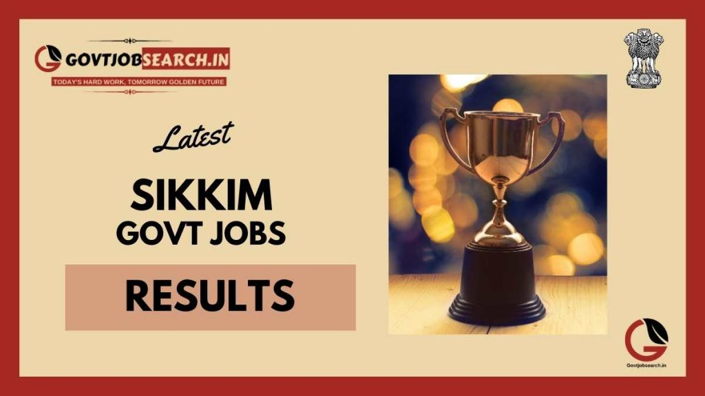 Sikkim-government-job-results