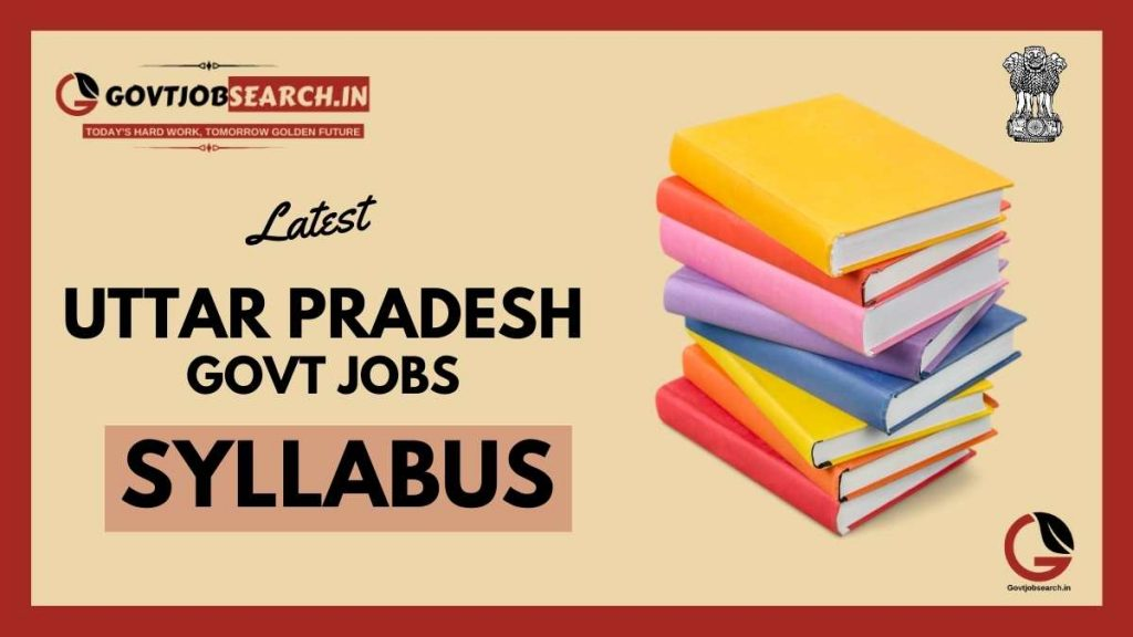 uttar-pradesh-government-jobs-syllabus