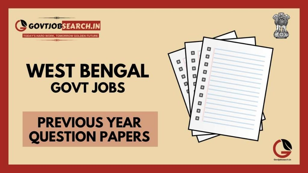 west-bengal-government-jobs-previous-years-papers