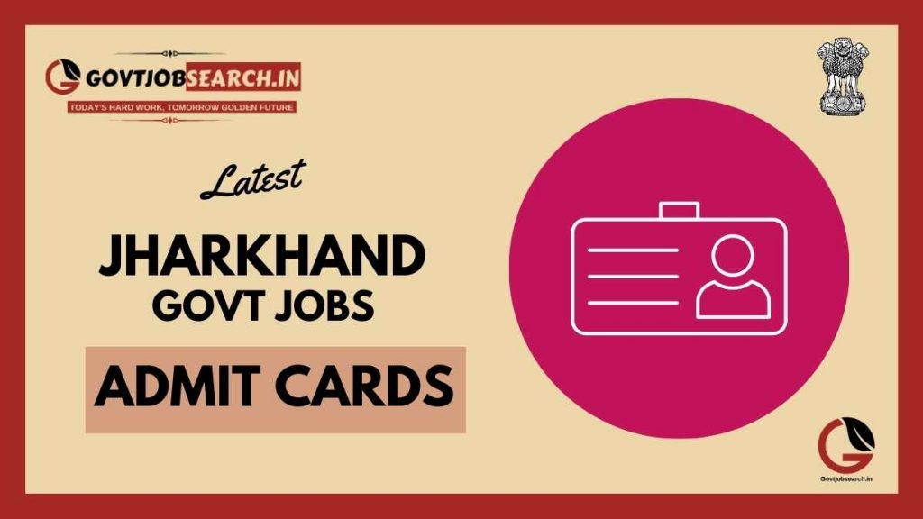 jharkhand-government-jobs-admit-cards
