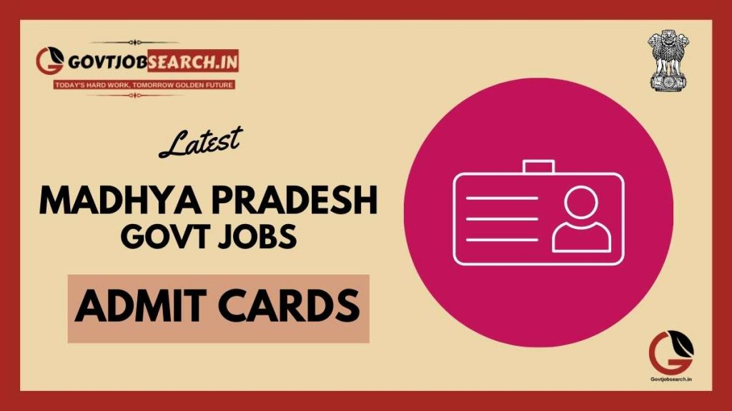 madhya-pradesh-government-jobs-admit-cards