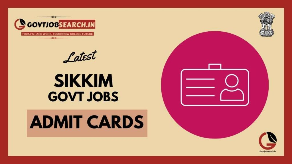 sikkim-government-jobs-admit-cards