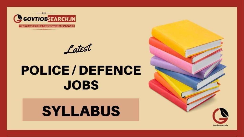 police-and-defence-jobs-syllabus